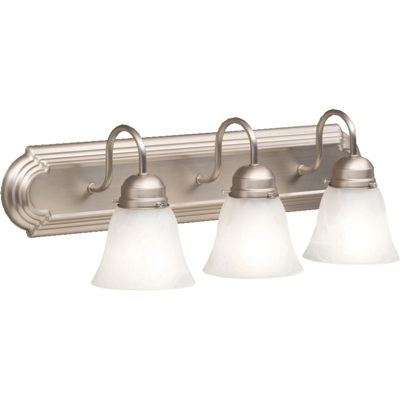3 Light Bath Light - NI (Brushed Nickel)