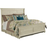 Weatherford Shelter Bed - King - Cornsilk