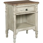 Weatherford Open Nightstand - Cornsilk