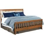 Gatherings Bedroom Slat Bed - Queen