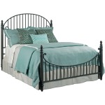 Weatherford Catlins Metal Bed - King - Heather