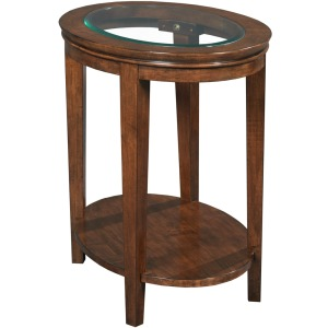Elise Elise Oval End Table