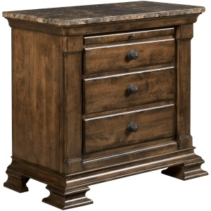 Portolone Bachelor's Chest with Marble Top