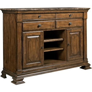 Portolone Sideboard with Marble Top