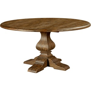"Artisan\'s Shoppe Dining 60"" Round Dining Table - Tobacco"