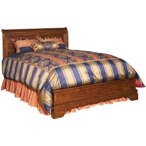 Chateau Royale Low Profile Bed - Queen