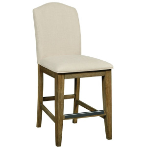The Nook Counter Height Parsons Chair - Brushed Oak
