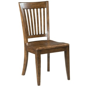 WOOD SEAT SIDE CHAIR