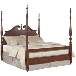 Hadleigh Hadleigh Cal King Rice Carved Bed
