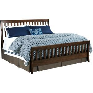 Gatherings Bedroom Slat Bed - King