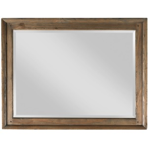 Weatherford Landscape Mirror - Heather