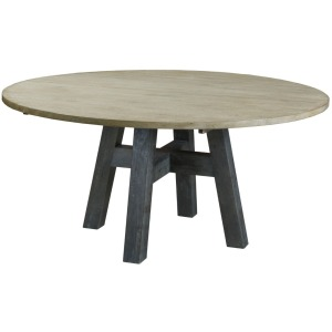 "LAYTON 64"" ROUND DINING TABLE - COMPLETE"