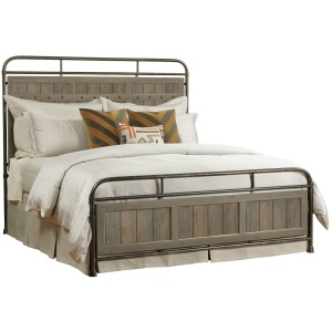 Folsom King Metal Bed