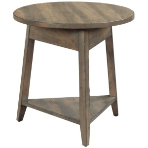 "24"" BOWLER ROUND END TABLE"