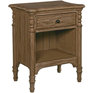 Weatherford Open Nightstand - Heather
