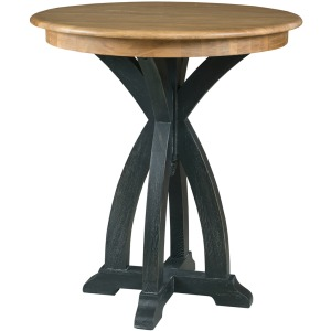 Stone Ridge Round Tall Tasting Table