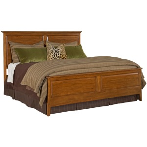 Cherry Park Panel Bed - King