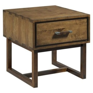 WOODWORKER DRAWER END TABLE