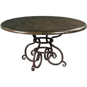 "Artisan\'s Shoppe Dining 60"" Round Dining Table - Black Forest"