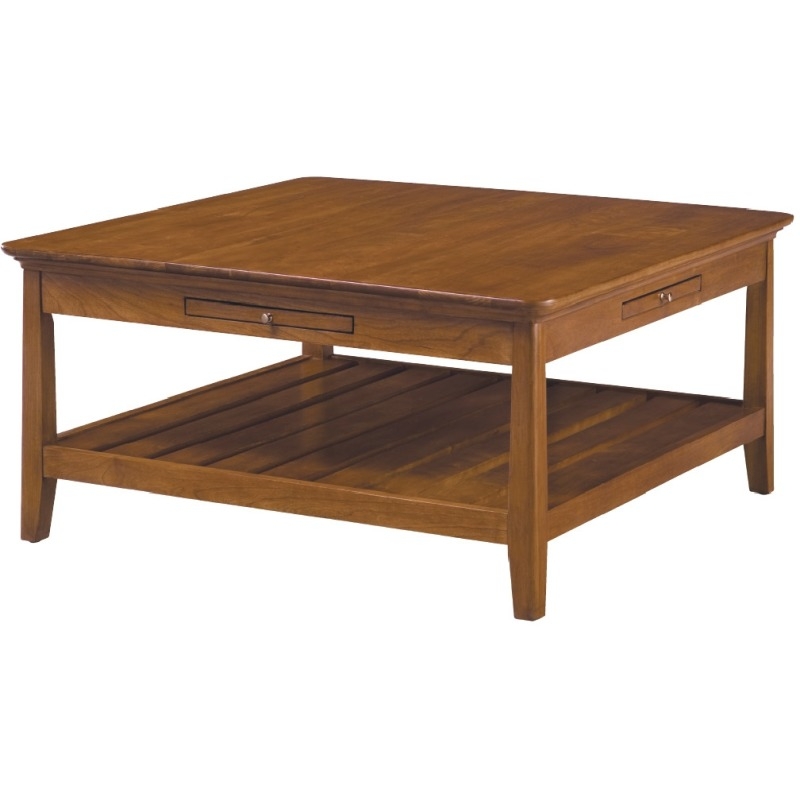 Pleasant Cherry Park Square Cocktail Table By Kincaid Furniture 63 Home Interior And Landscaping Fragforummapetitesourisinfo