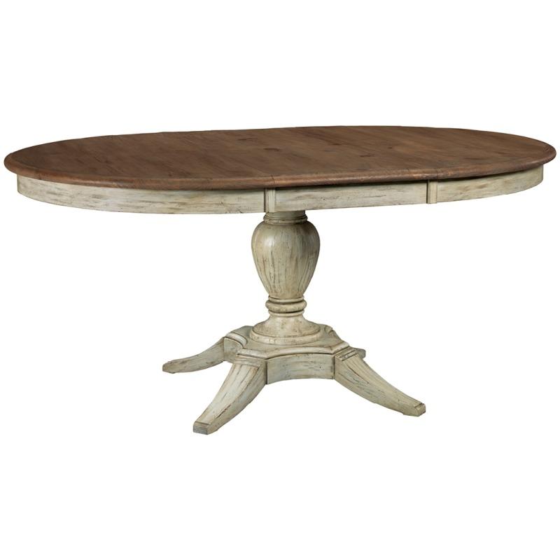 Weatherford Milford Dining Table - Cornsilk