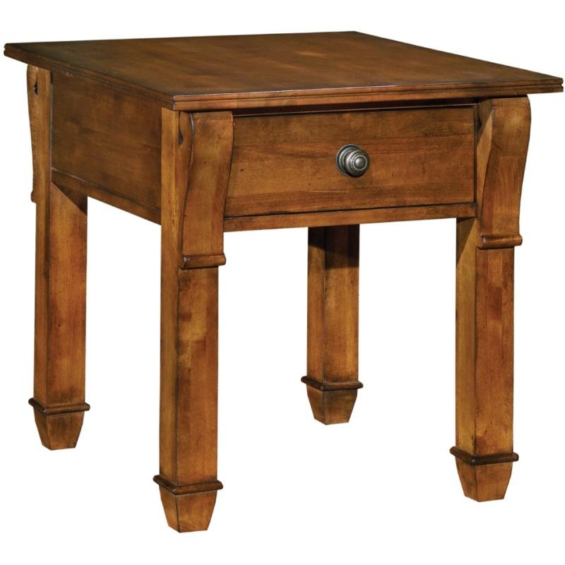 Marvelous Tuscano Drawer End Table By Kincaid Furniture Oskar Huber Home Interior And Landscaping Fragforummapetitesourisinfo
