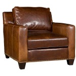 Java Leather Chair & Ottoman