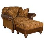 Kacey Chair & 1/2 & Ottoman