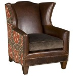 Athens Leather Fabric Chair