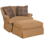 Cuddle Chair and 1/2 and Ottoman