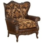 Isabella Leather/Fabric Chair