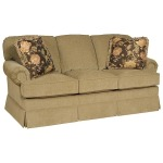 Lillian Queen Fabric Sleeper Sofa