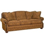 Maxwell Queen Leather/Fabric Sleeper Sofa