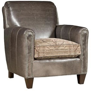 Austin Leather/Fabric Chair C31-01-LF