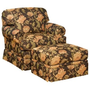 Lillian Chair & Ottoman