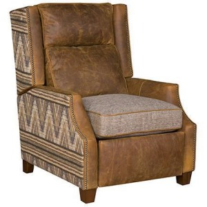 Hanna Recliner - Leather/Fabric