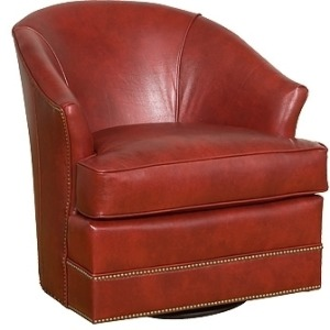 Cassandra Leather Swivel Chair