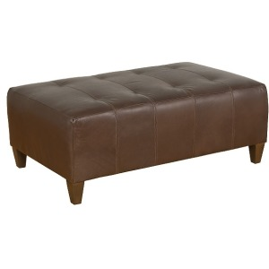 Chicago Leather Ottoman