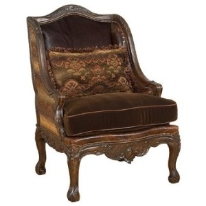 Kearney Leather/Fabric Chair