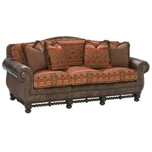 Territorial Leather/Fabric Sofa