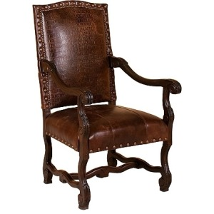 William Leather Chair