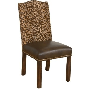 Zen Leather/Fabric Chair