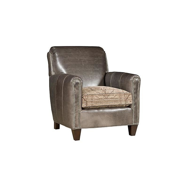Austin Leather/Fabric Chair