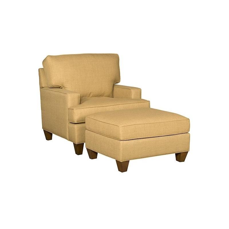 Chatham Fabric Chair & Ottoman