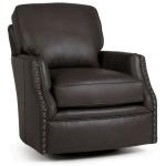 Hunter Leather Swivel Chair