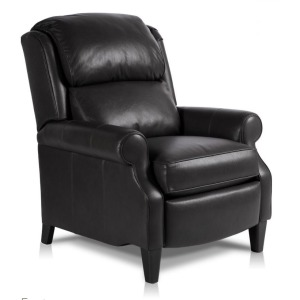 Wallace Leather Pressback Recliner