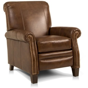 Mansfield Leather Pressback Recliner