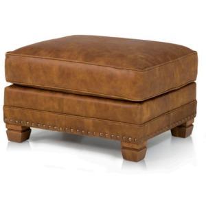 Durango Leather Ottoman