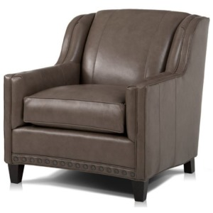 Willamette Crescent Leather Chair