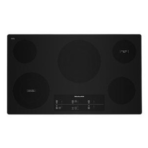 "36"" Electric Cooktop with 5 Elements and Touch-Activated Controls"